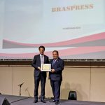 Braspress recebe homenagem do SETTRIM