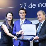 Tayguara Helou recebe Medalha de Mérito do Transporte