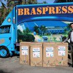 Braspress colabora com a Campanha do Agasalho da COMJOVEM – SP