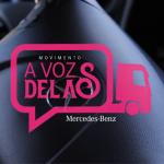 Colaboradoras da Braspress participam de campanha da Mercedes-Benz
