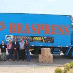 Braspress doa 20 computadores para a Associação Beneficente Rainha da Paz