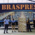 Braspress doa mais de 4 milhões de reais em fretes de transportes