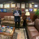 Urubatan Helou recebe título de embaixador do Rio de Janeiro